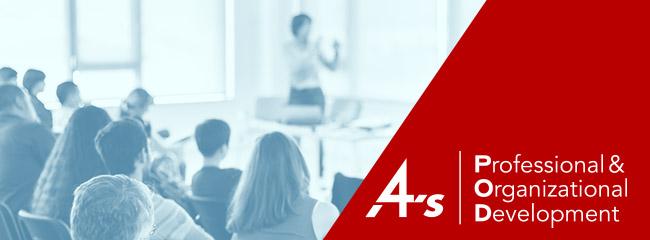4A's Professional & Organizational Development