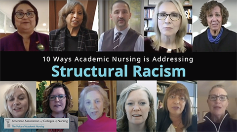 Graphic - 10 Ways Academic Nursing is Addressing Structural Racism
