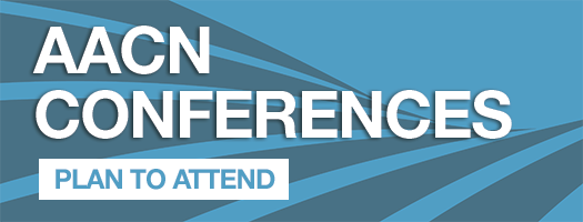 Banner - Plan to Attend this year's AACN Conferences