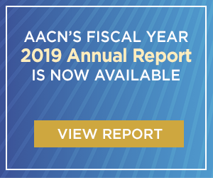 View AACN's 2019 Annual Report