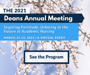 Graphic - See the Program - 2021 Deans Annual Meeting