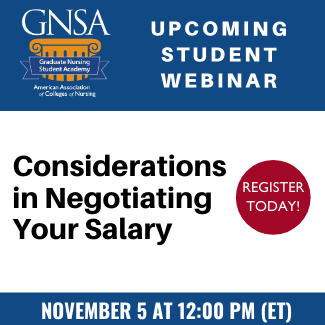 GNSA Webinar - Negotiating Your Salary
