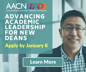 Apply Now - Advancing Academic Nursing for New Deans