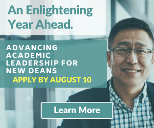 Registration Deadline Approaching - Apply Now for the Advancing Academic Nursing Leadership for New Deans Program!