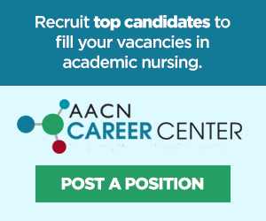 Recruit top candidates in nursing education with AACN's Career Center
