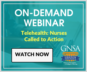 Watch AACN's On-Demand Webinar - Telehealth: Nurses Called to Action
