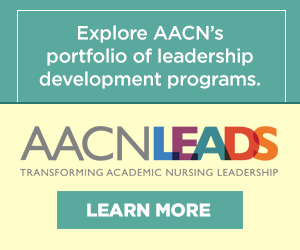 Graphic - AACN LEADS Leadership Development
