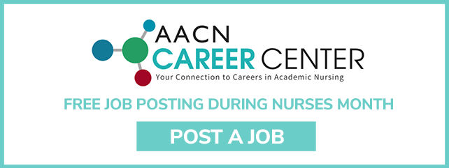 Free AACN Career Center Job Posting during Nurses Month