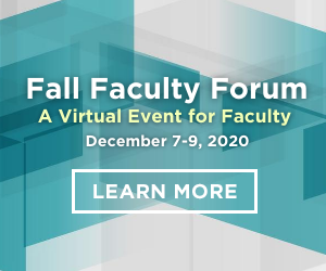 Register for AACN's Fall Faculty Forum!