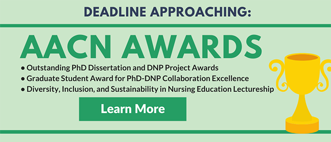 Deadline Approaching for AACN Awards - Nominate Now!