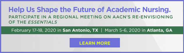 Help us shape the future of nursing education. Re-envision the AACN Essentials!
