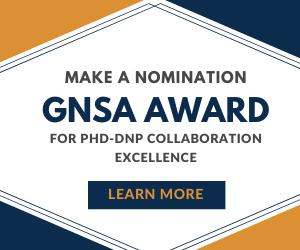 Graphic - GNSA Award for PhD-DNP Collaboration