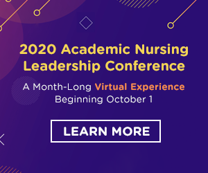 Register Now - 2020 Academic Nursing Leadership Conference