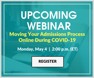 Join the Upcoming AACN Webinar: Moving your Admissions Process Online