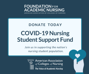 Support AACN's COVID-19 Student Support Fund