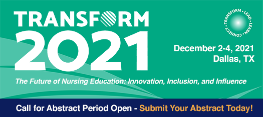Graphic - AACN's Transform Conference - Call for Abstract Period Open