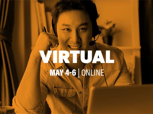 Virtual May 4-6 | Online