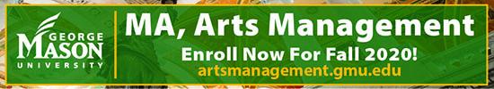 Arts Management MA Program at George Mason University Advertisement