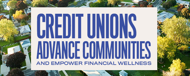 Credit unions advance communities