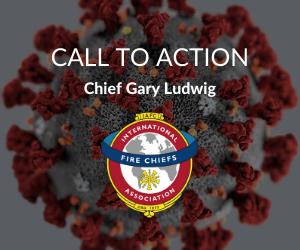 IAFC President Gary Ludwig