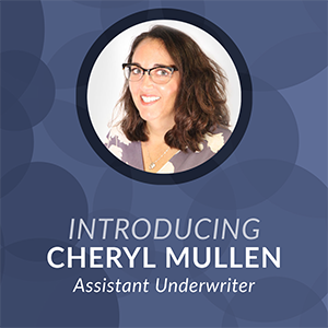 Introducing Cheryl Mullen