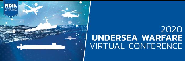 2020 Undersea Warfare Virtual Conference