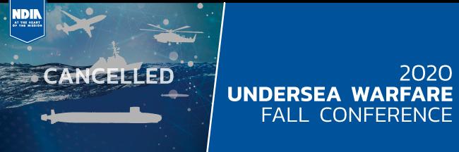 2020 Undersea Warfare Fall Conference