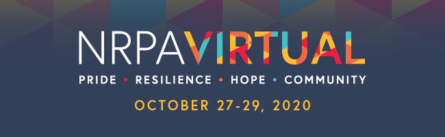 2020 NRPA ANNUAL CONFERENCE | NRPA VIRTUAL | OCT 27-20, 2020