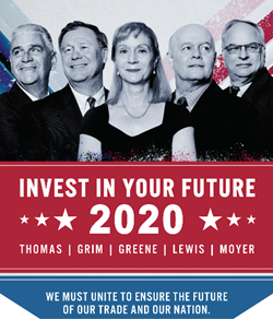 Invest in Your Future Campaign Poster