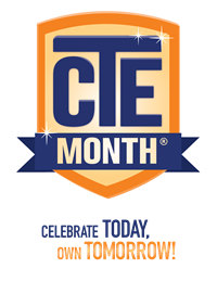 National CTE Month Logo
